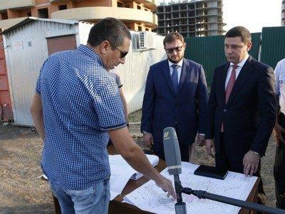 В Краснодаре начато строительство школы на 1100 мест на ул. Марины Цветаевой